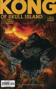 Kong of Skull Island #3 VF; Boom! | save on shipping - details inside
