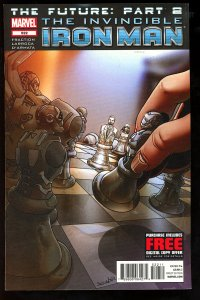 Invincible Iron Man #522 (2012)