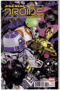 Star Wars  : Droids Unplugged   #1 NM