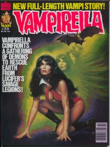Vampirella #73 1978-Warren-Barbara Leigh cover-69 page Vampi story-VF