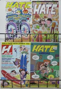 HATE #1,2,3, Annual #1 by Peter Bagge. 1990s Alt-Classic!Fantagraphics,3rd print