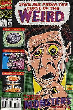 Curse of the Weird #3 FN; Marvel | save on shipping - details inside