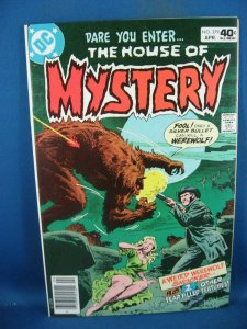 HOUSE OF MYSTERY 279 VF+ 1980