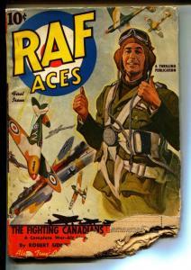 RAF Aces-Pulps-First Issue/1941-Orlando Rigoni-Robert Sidney Bowen