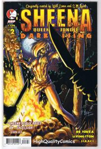 SHEENA QUEEN of the JUNGLE DARK RISING 2, VF, Femme, 2008, more in store
