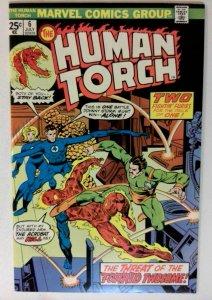 Human Torch #6 Marvel 1975 NM- Bronze Age 1st Printing Comic Book