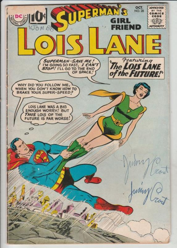 Superman's Girlfriend Lois Lane #28 (Oct-61) GD Affordable-Grade Superman, Lo...