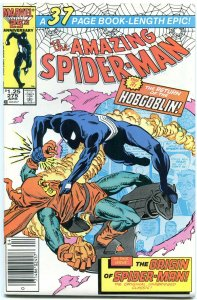 AMAZING SPIDER-MAN #275 1986- Hobgolin- Origin retold-MARVEL COMICS NM