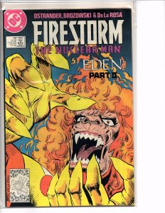 DC Comics Firestorm the Nuclear Man #78