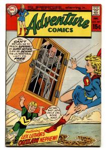 ADVENTURE COMICS #387 comic book 1969-SUPERGIRL-LEX LUTHOR-DC COMICS