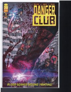 Danger Club #1 (Image, 2012)