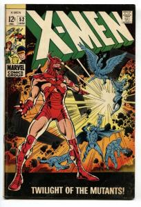 X-MEN #52 1969 comic book MARVEL fn