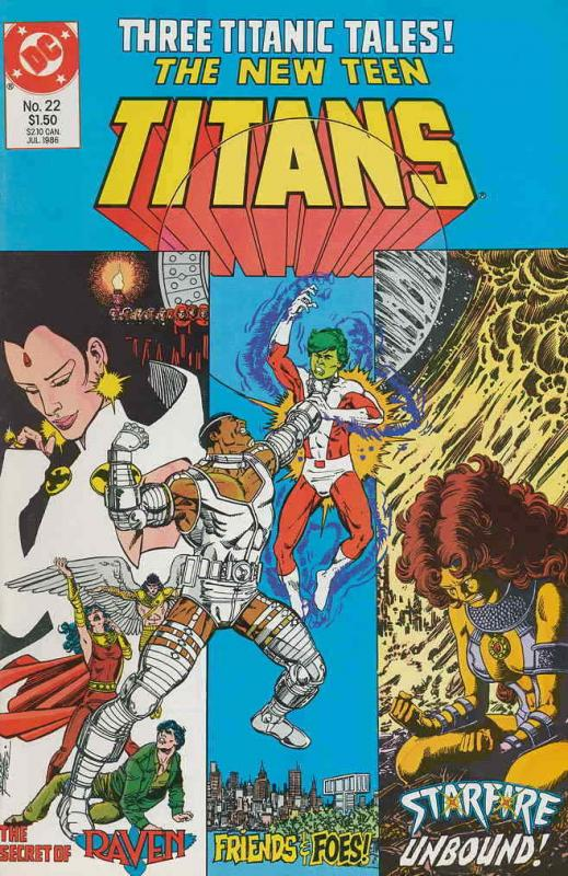 New Teen Titans, The (2nd Series) #22 VF/NM; DC | save on shipping - details ins
