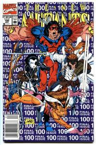 NEW MUTANTS #100 Last issue Newsstand comic book NM-