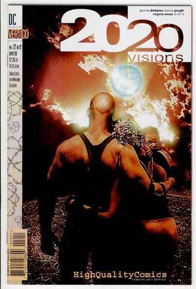 2020 VISIONS #12, NM+, Jamie Delano, Steve Pugh, Vertigo, more in our store