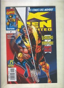 X Men Unlimited numero 07: Lobezno y Dientes de Sable