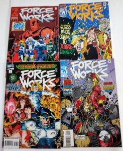 Force Works #7 8 12 21 Comic Lot of (4) High Grade