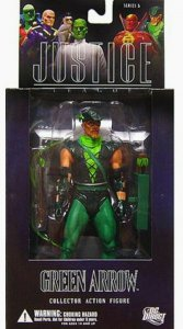 DC Direct Justice League Green Arrow Figure - Series 5 - Mint in Box