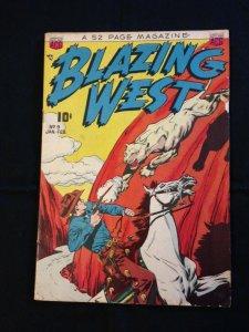 Blazing West, #9, Jan. 1950, AGC