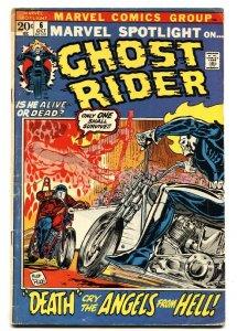 MARVEL SPOTLIGHT #6 comic book 1972- 2nd GHOST RIDER vg