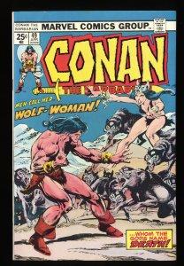 Conan The Barbarian #49 VF+ 8.5 Marvel Comics