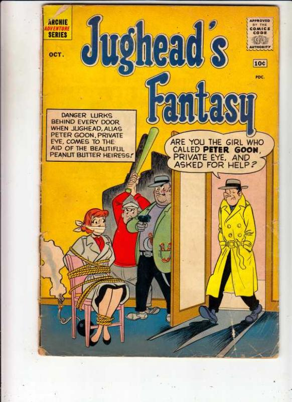Jughead's Fantasy #2 (Oct-60) GD- Affordable-Grade Archie, Betty, Veronica, R...