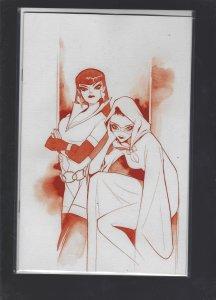 Vampirella Dark Powers #1 MOMOKO Virgin Crimson Red Line Cover SRP 300.00