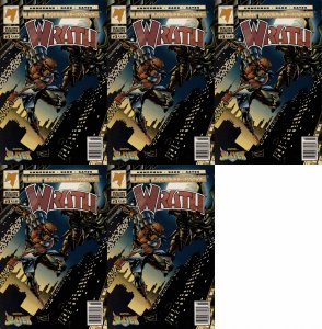 Wrath #3 Newsstand Covers (1994) - 5 Comics