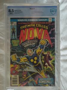 Nova #1 - CBCS 8.5 - 1st Appearance Nova, Nova Prime, Zor & Ginger Jaye