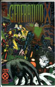 GENERATION X #1 2 3 4, NM+, Chromium, X-men, Bachalo, Femmes