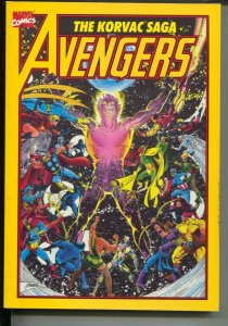 Avengers: The Korvac Saga-Jim Shooter-1991-PB-VG