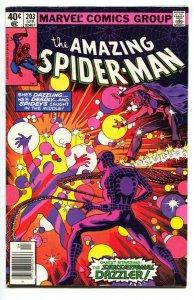 AMAZING SPIDER-MAN #203-1980-DAZZLER-MARVEL--comic book