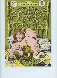 All Canadian Beaver Comix / 1st Printing / 1973 / Last Gasp Eco-Funnies