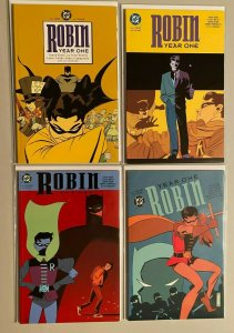 Robin Year One set from:#1-4 all 4 different books 6.0 FN (2000)