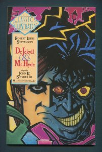 Classic Illustrated #8  (Dr. Jekyll & Mr. Hyde)  NM  1990