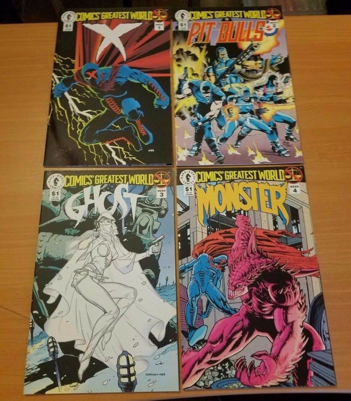 Comics Greatest World Arcadia 1-4 Complete Set Run! ~ NEAR MINT NM ~ 1993