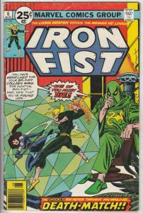 Iron Fist #6 (Aug-76) FN/VF Mid-High-Grade Iron Fist