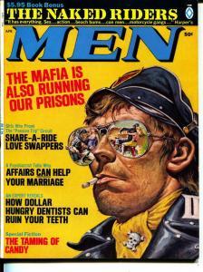 MEN-4/1969-Pussycat-Motorcycles-Mafia-Agents-Adventure