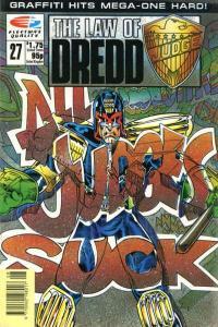 Law of Dredd #27, NM + (Stock photo)