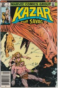 5 Ka-Zar the Savage Marvel Comic Books # 6 7 8 9 29 Bruce Jones Anderson EP1