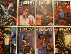 Hell Blazer comic lot from:#52-234 50 difference 8.0 VF (1992-2007)