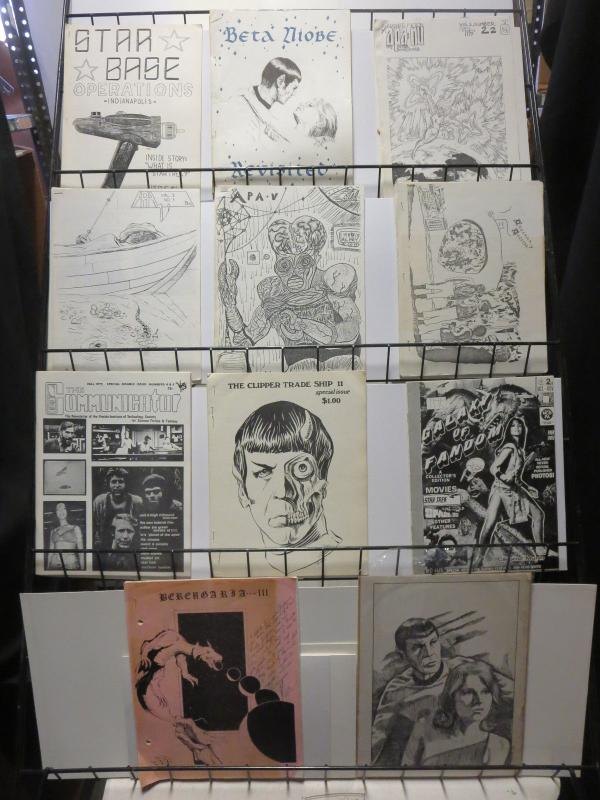 Star Trek Mimeograph Fanzines from the 1970s Lot SciFi Fandom from that Decade