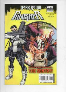 PUNISHER #1, NM-, Dark Reign, Rick Remender, 2009, more Marvel in store