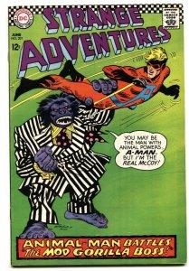 STRANGE ADVENTURES #201 comic book DC Animal-Man 1967