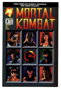Mortal Kombat #0 1994- Malibu comic book NM-