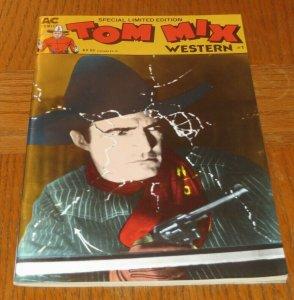 Tom Mix Western #1 VF 1988 AC Western Comic Book Cowboys Sharpshooters Revenge