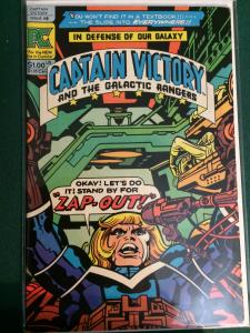 Captain Victory and the Galactic Rangers #8 Jack Kirby