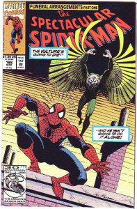Spider-Man, Peter Parker Spectacular #186 (Jun-92) NM/NM- High-Grade Spider-Man