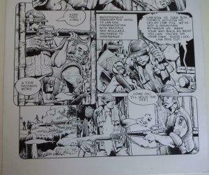 DON LOMAX Original Art, Vietnam Journal #8 pg 7, Brain Dead Horror, Caliber,2011