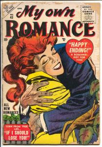 My Own Romance #43 1955-Marvel-Vince Colletta-Happy Ending story-FR